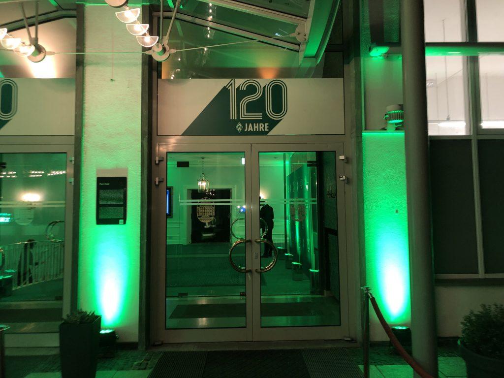 Gala Dinner 120 Jahre Werder 1
