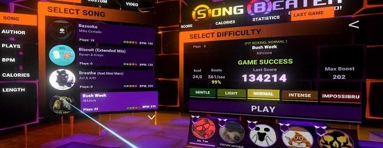Song Beater - Ein Musik- und Rhythmusspiel für jedes Fitnesslevel 3